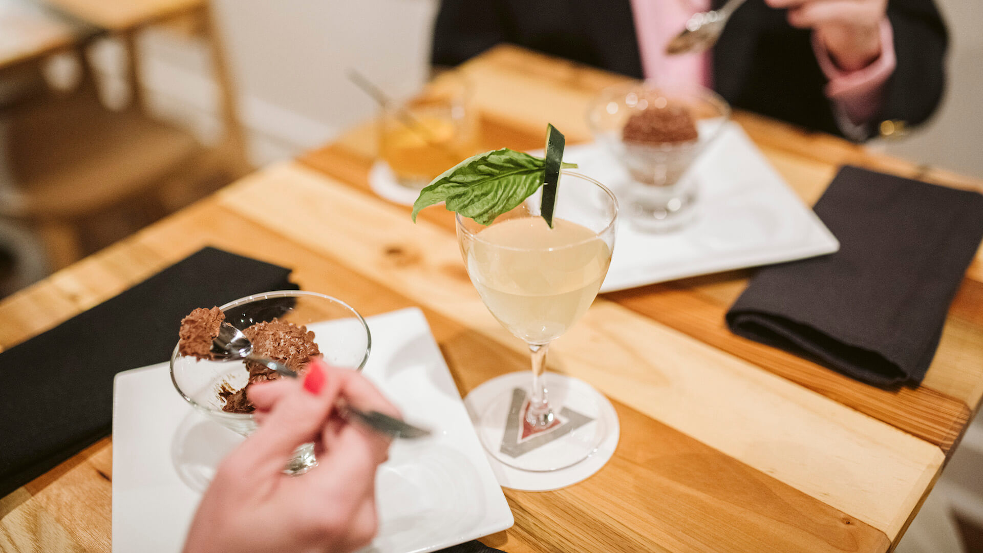 Drinks and desserts