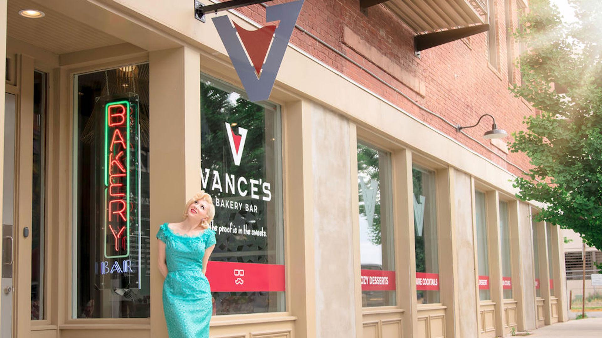 vances bakery bar storefront